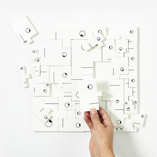 Areaware Puzzlehead Puzzle Decor