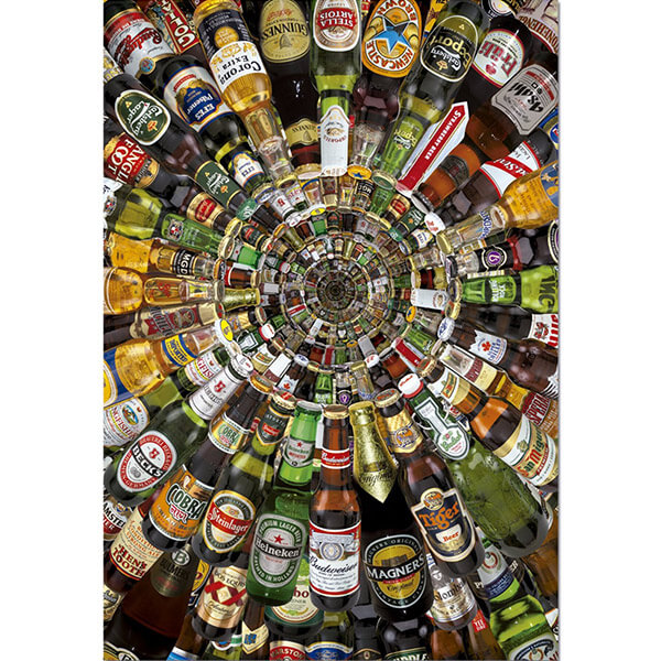 Beer Tunnel Puzzle #jigsaw #puzzle