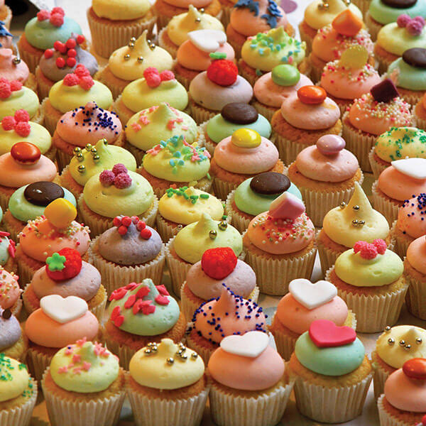 Killer Cupcakes Jigsaw Puzzle #jigsaw #puzzle