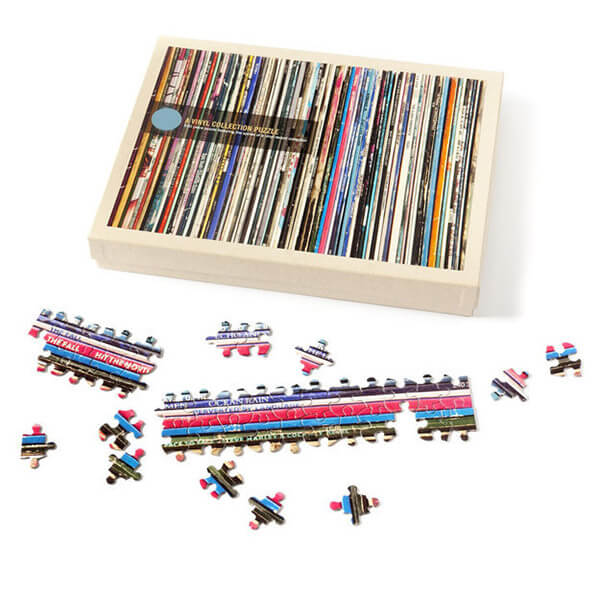 Vinyl Collection Jigsaw Puzzle