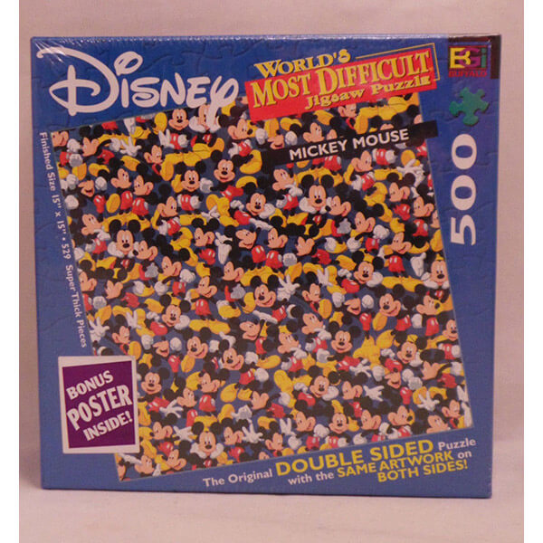 World's Most Difficult Mickey Mouse Jigsaw Puzzle #jigsaw #puzzle