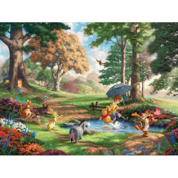 Thomas Kinkade The Disney Dreams Collection Winnie the Pooh Jigsaw Puzzle