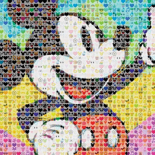 Disney Emoji Mickey Mouse Puzzle