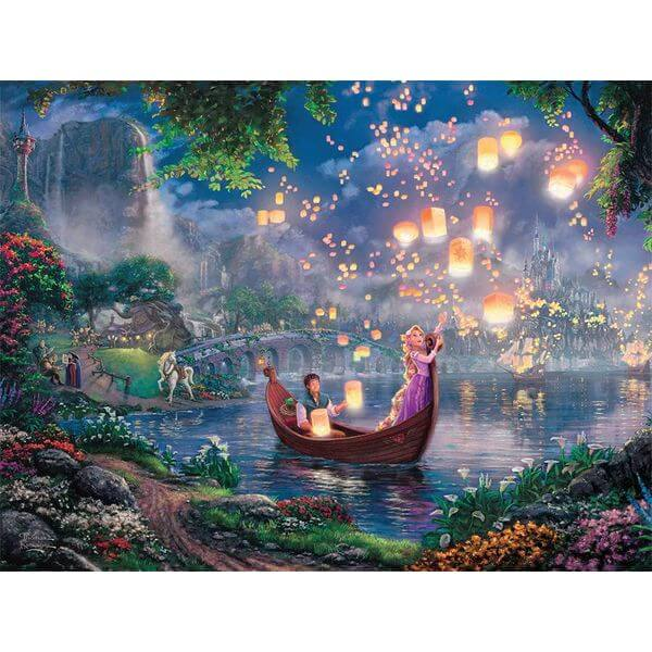 Thomas Kinkade Disney Collection Rapunzel Jigsaw Puzzle