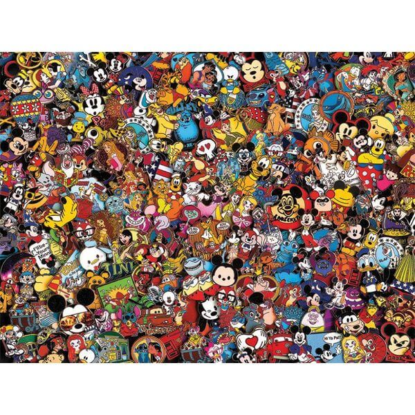 Disney Photo Magic Pins Puzzle