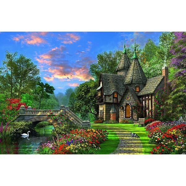 Ravensburger Tranquil Countryside Jigsaw Puzzle