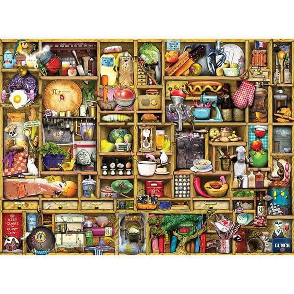 Ravensburger Kitchen Cupboard Jigsaw Puzzle