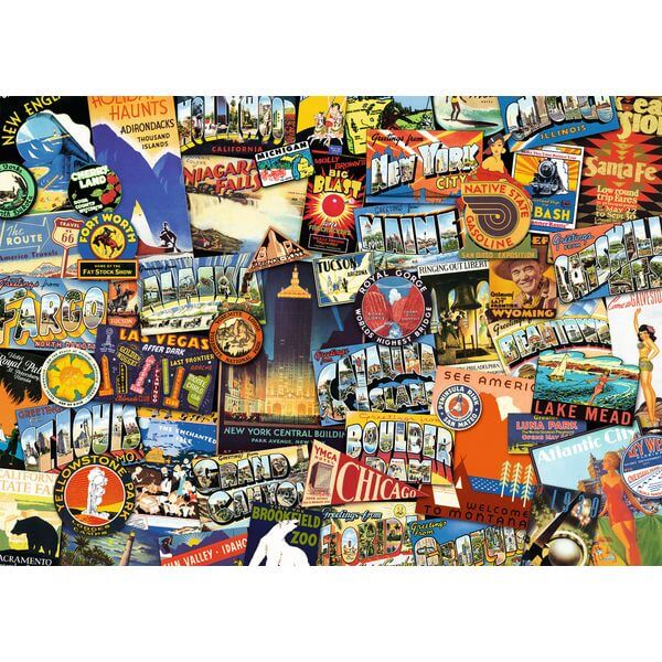 Ravensburger Road Trip USA Jigsaw Puzzle