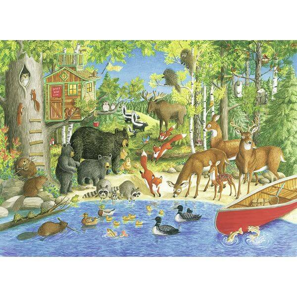 Ravensburger Woodland Friends Jigsaw Puzzle