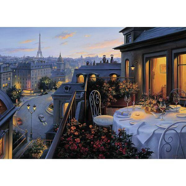 Ravensburger Paris Balcony Jigsaw Puzzle