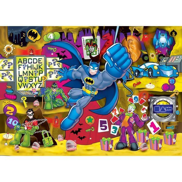 Trouble in The Batcave Batman Puzzle