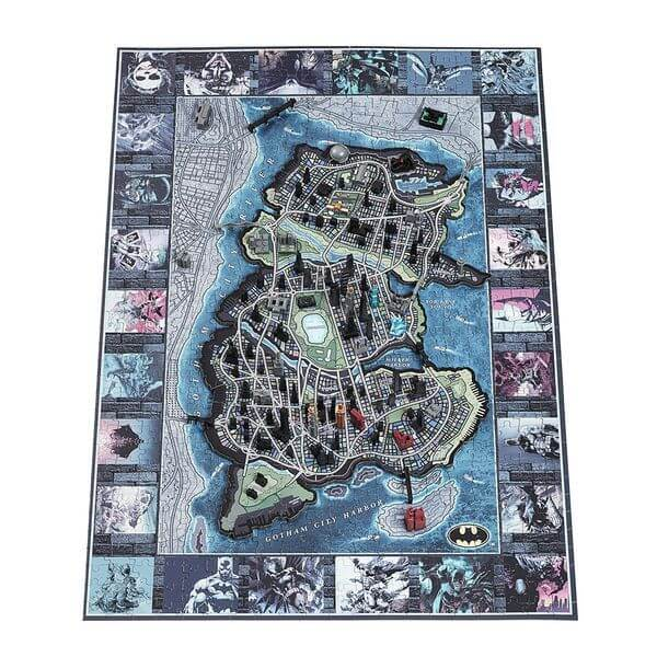 4D Cityscape Mini Gotham City Puzzle
