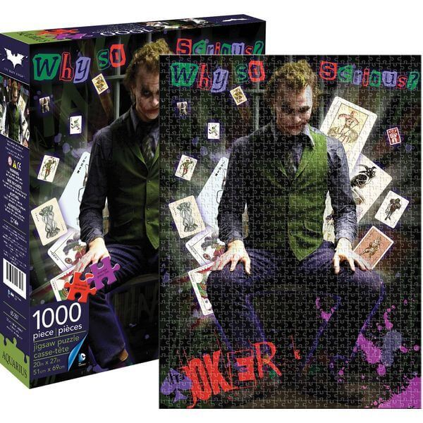 Aquarius DC Comics Heath Ledger Joker Jigsaw Puzzle