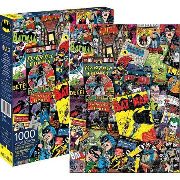 Aquarius Batman Collage Jigsaw Puzzle