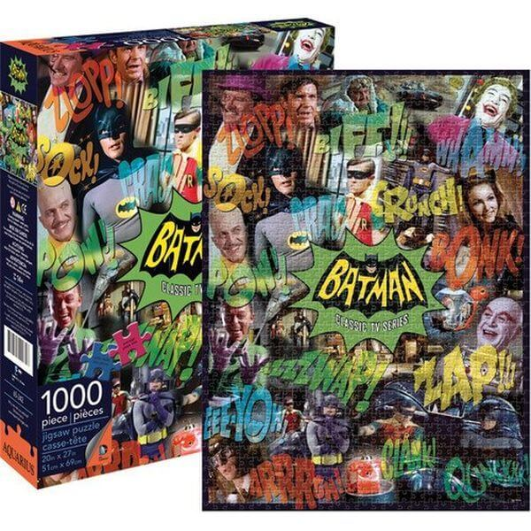 Aquarius Batman 66 Collage Jigsaw Puzzle