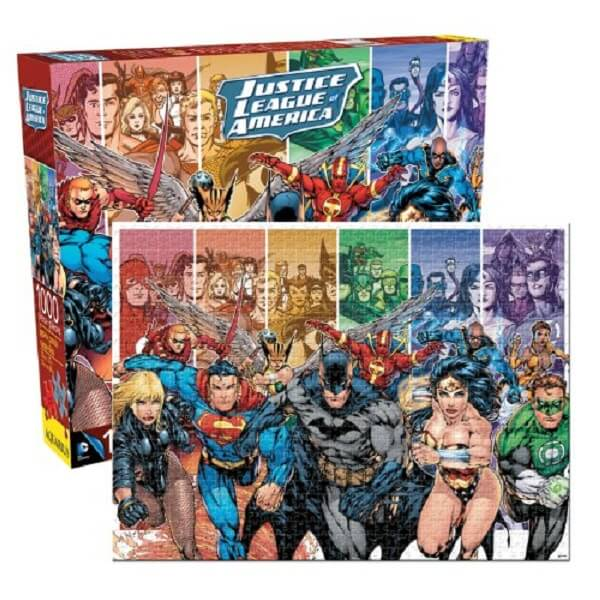 Aquarius DC Comics Justice League of America Jigsaw Puzzle