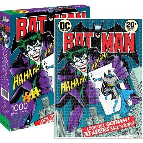 Aquarius DC Comics Joker Jigsaw Puzzle