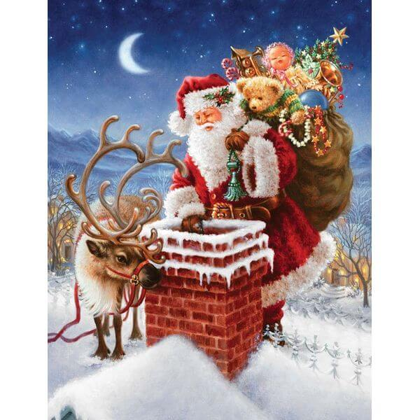 Springbok Special Delivery Christmas Puzzle - Puzzle Haven #ChristmasPuzzles