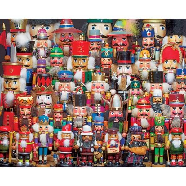 Springbok Puzzles Nutcracker Collection Jigsaw Puzzle - Puzzle Haven #ChristmasPuzzles