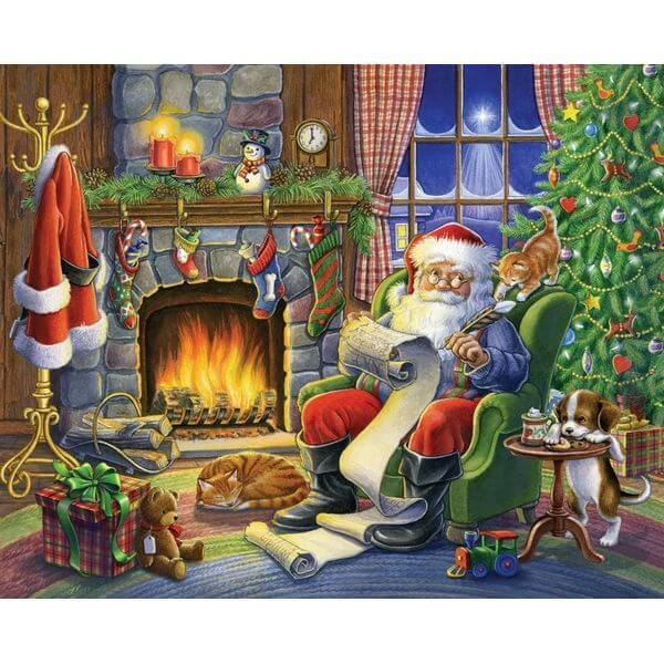 Naughty or Nice Christmas Jigsaw Puzzle - Puzzle Haven #ChristmasPuzzles