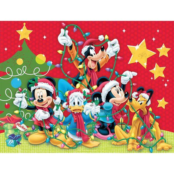 Ceaco Disney Family Christmas Puzzle - Puzzle Haven #ChristmasPuzzles