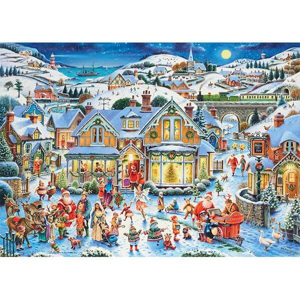Ravensburger Which One's Santa Christmas Puzzle - Puzzle Haven #ChristmasPuzzles
