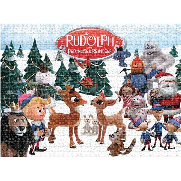 Aquarius Rudolph The Red Nosed Reindeer Christmas Puzzle - Puzzle Haven #ChristmasPuzzles