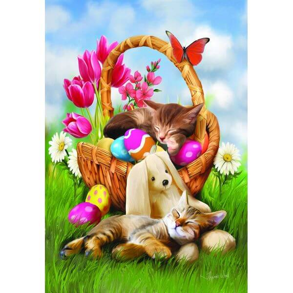 Hard Day with the Easter Bunny Jigsaw Puzzle