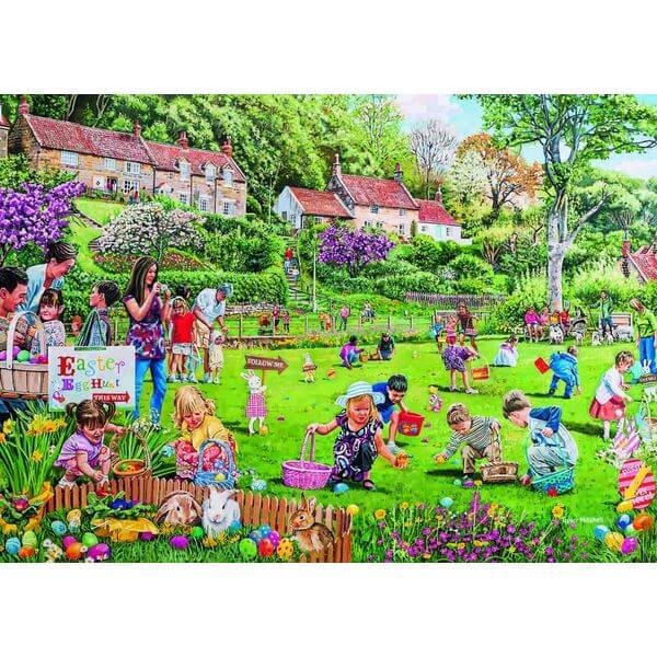 Gibsons Easter Egg Hunt Jigsaw Puzzle