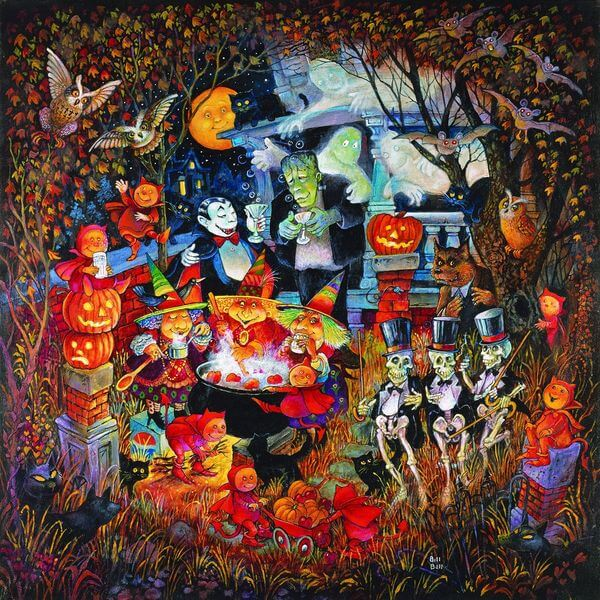 Monsters Night Out Jigsaw Puzzle
