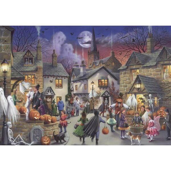 Jumbo Halloween Jigsaw Puzzle