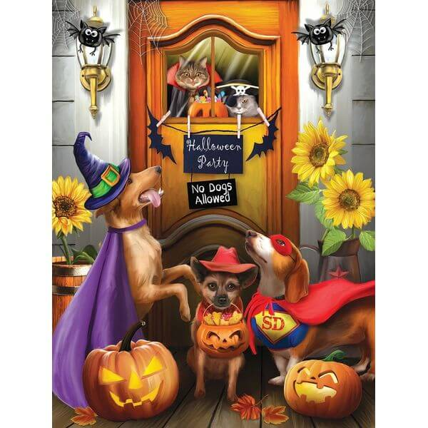 The Halloween Party Jigsaw Puzzle