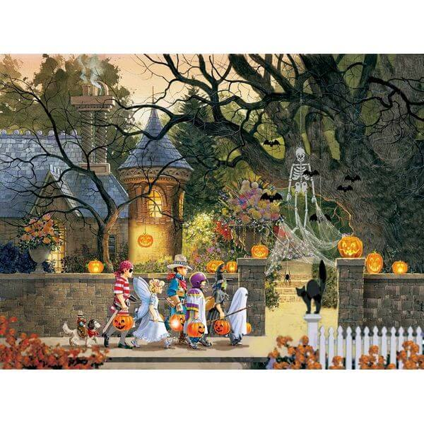 Friends on Halloween Jigsaw Puzzle