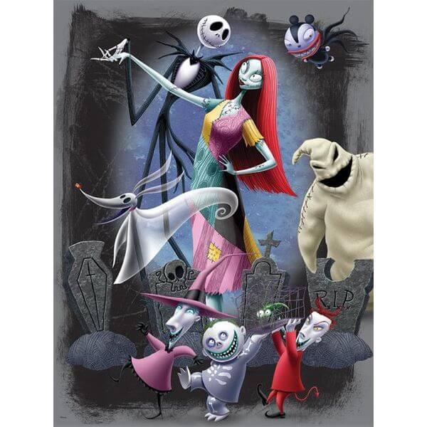 Ceaco Disney's Nightmare Before Christmas Halloween Puzzle