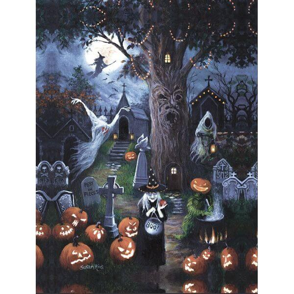 Halloween Night Jigsaw Puzzle
