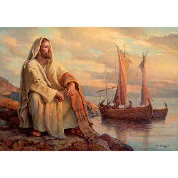 Facing Eternity Religious Jigsaw Puzzle