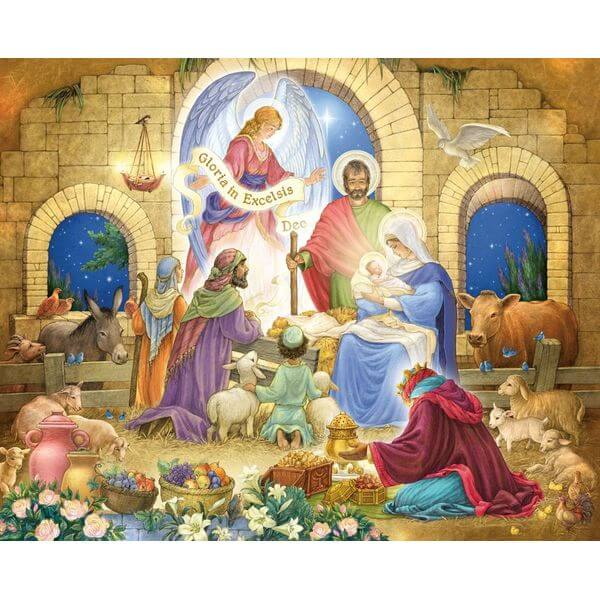 Glorious Nativity Jigsaw Puzzle