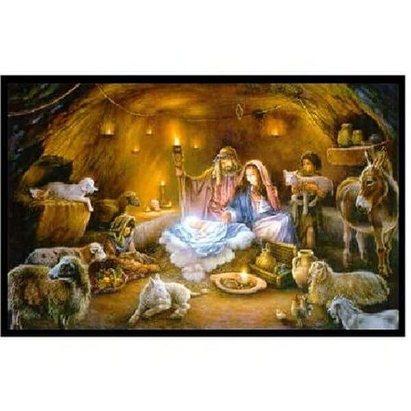 No Room at The Inn Religious Jigsaw Puzzle