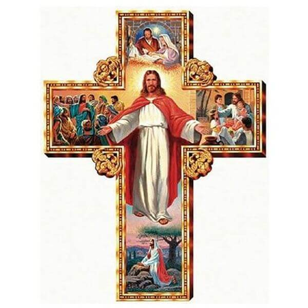 I Am With You Cross Christian Jigsaw Puzzle