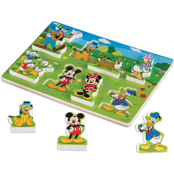 Melissa & Doug Mickey Mouse Clubhouse Wooden Puzzle