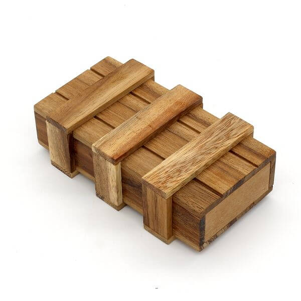 BSIRI The Magic Box Wooden Puzzle