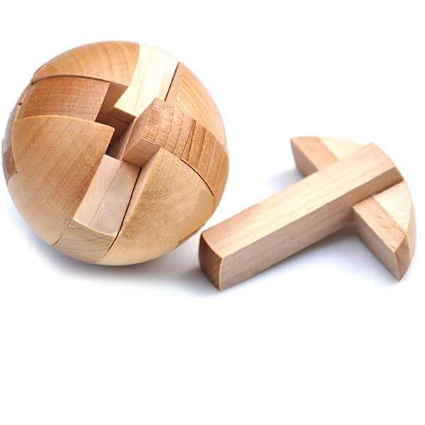 KINGOU Magic Ball Wooden Puzzle