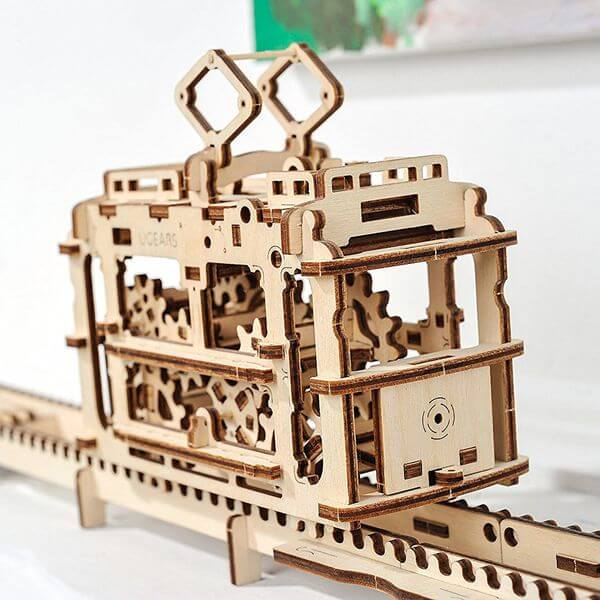 UGears Mechanical Wooden Wooden Puzzle