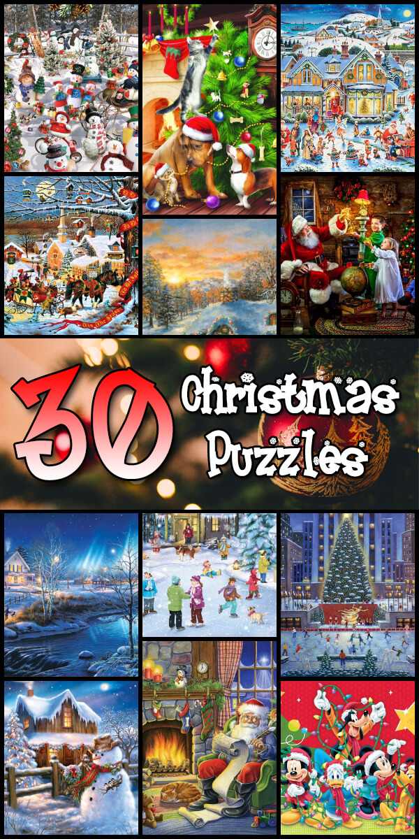 30 Christmas Puzzles - Puzzle Haven