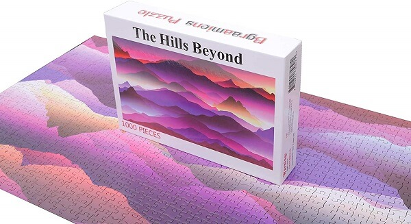Bgraamiens The Hills Beyond Jigsaw Puzzle