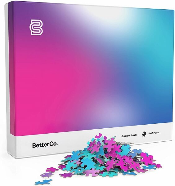 BetterCo. Gradient Jigsaw Puzzle