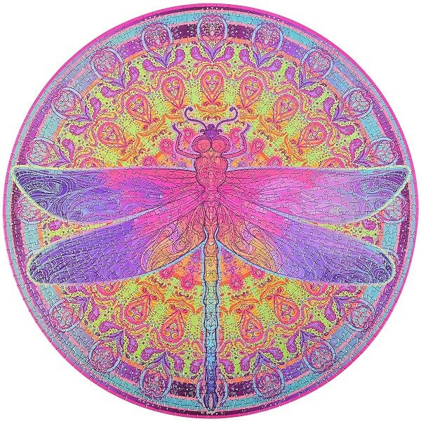 Bgraamiens Zentangle Dragonfly Puzzle