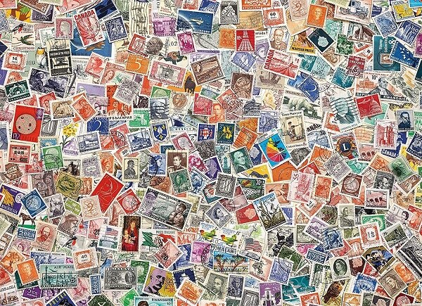 Philatelist Dream Jigsaw Puzzle
